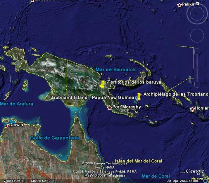 Trobriand & Nueva Guinea